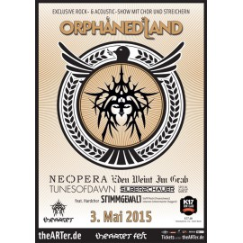 Orphaned Land - TheARTer Fest - Poster
