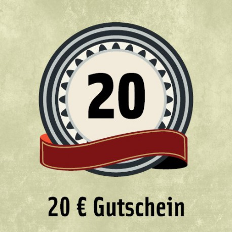 20 Euro - Gutschein
