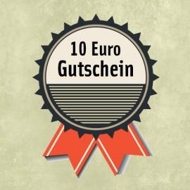 10 Euro - Gutschein