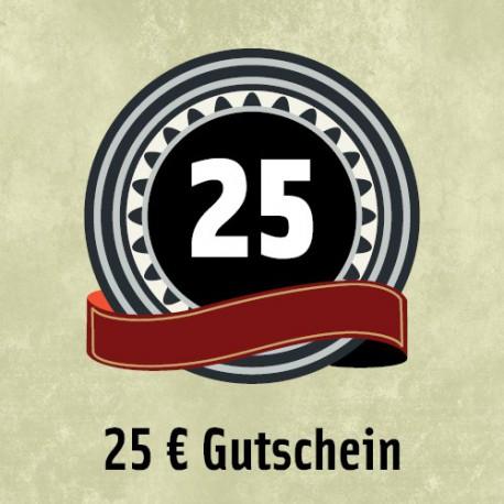 25 Euro - Gutschein