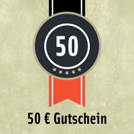 50 Euro - Gutschein