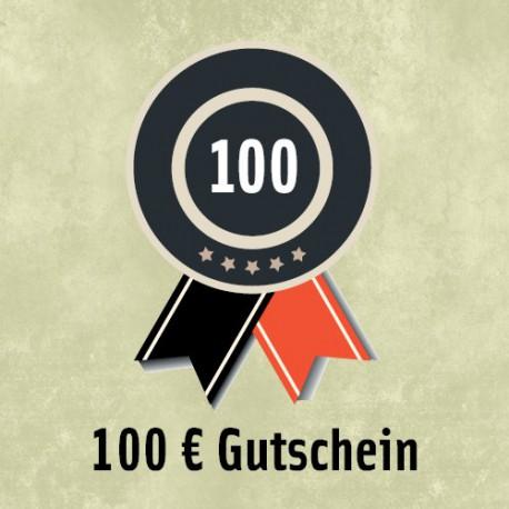 100 Euro - Gutschein