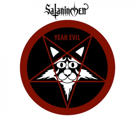 Pentagram-Cat Button (38 mm)