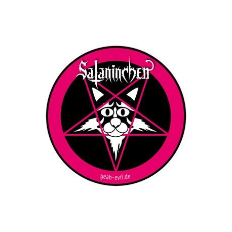 Sataninchen Aufkleber (5 cm)