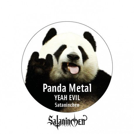 Panda Metal (Ansteck-Button) 38 mm