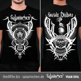 Shirt Soziale Distanz (Sataninchen)