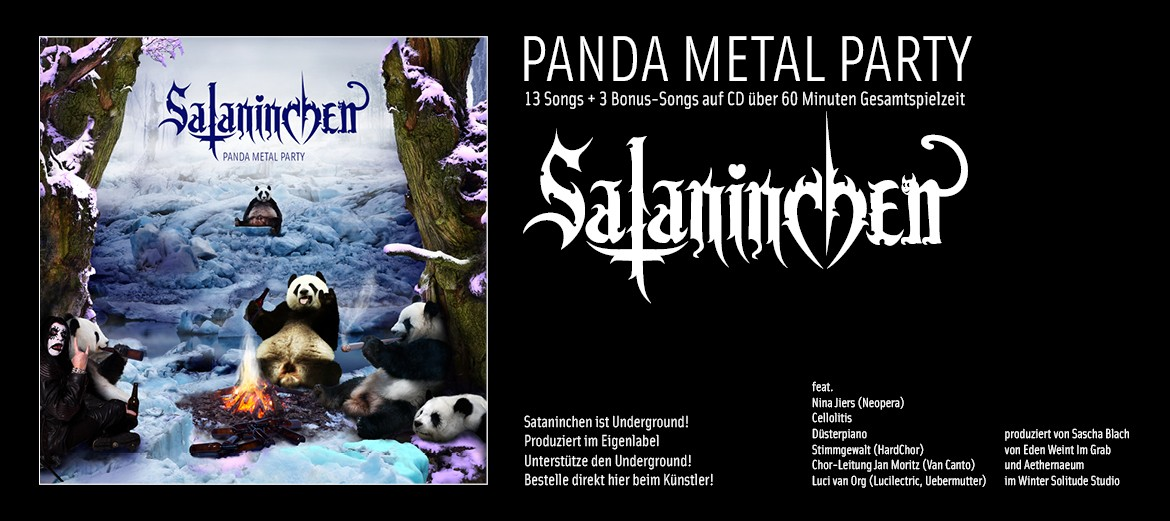 "Sataninchen ""Panda Metal Party"""